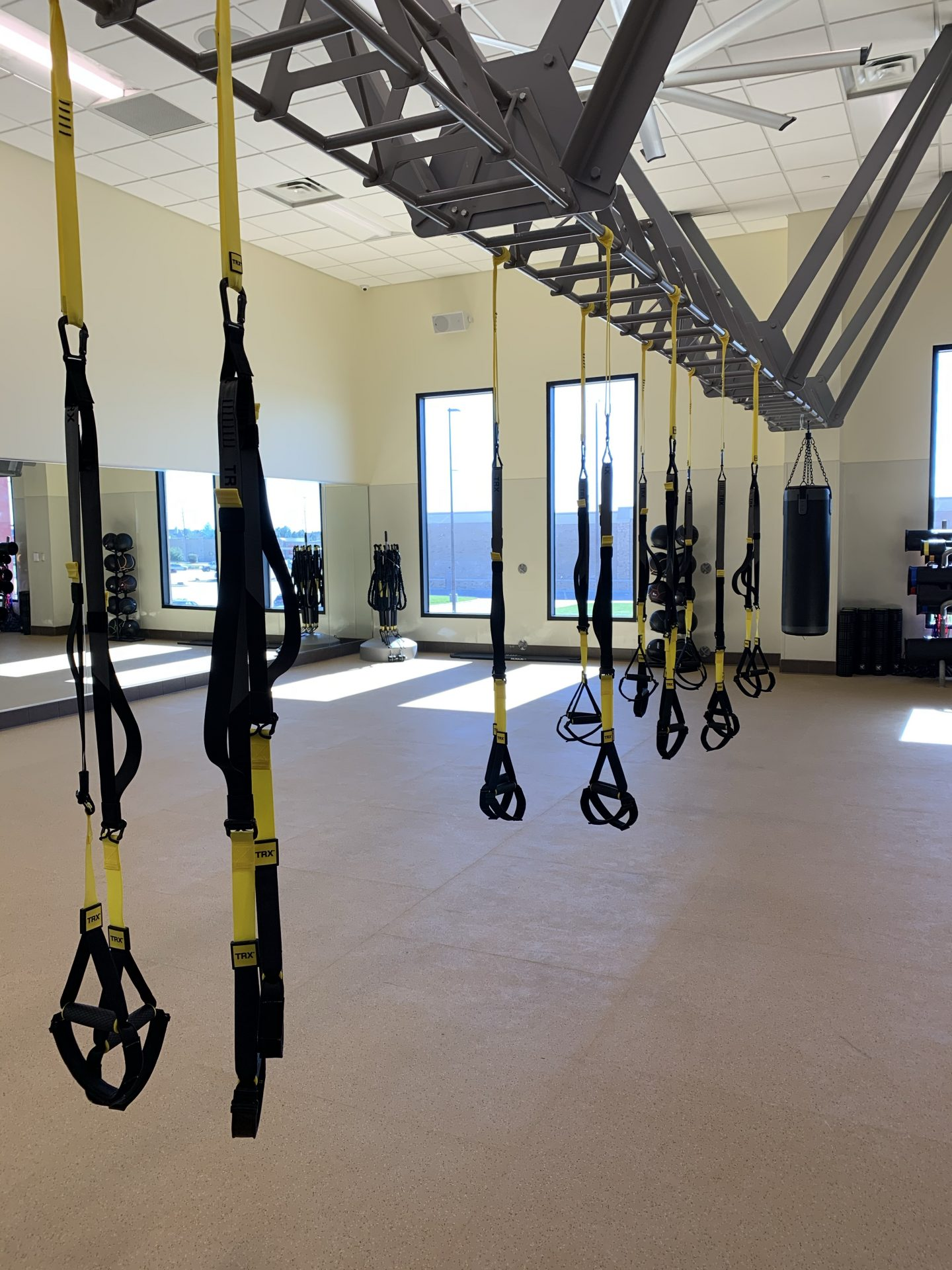 TRX Suspension Training room - gyms in katy tx - villasport cinco ranch