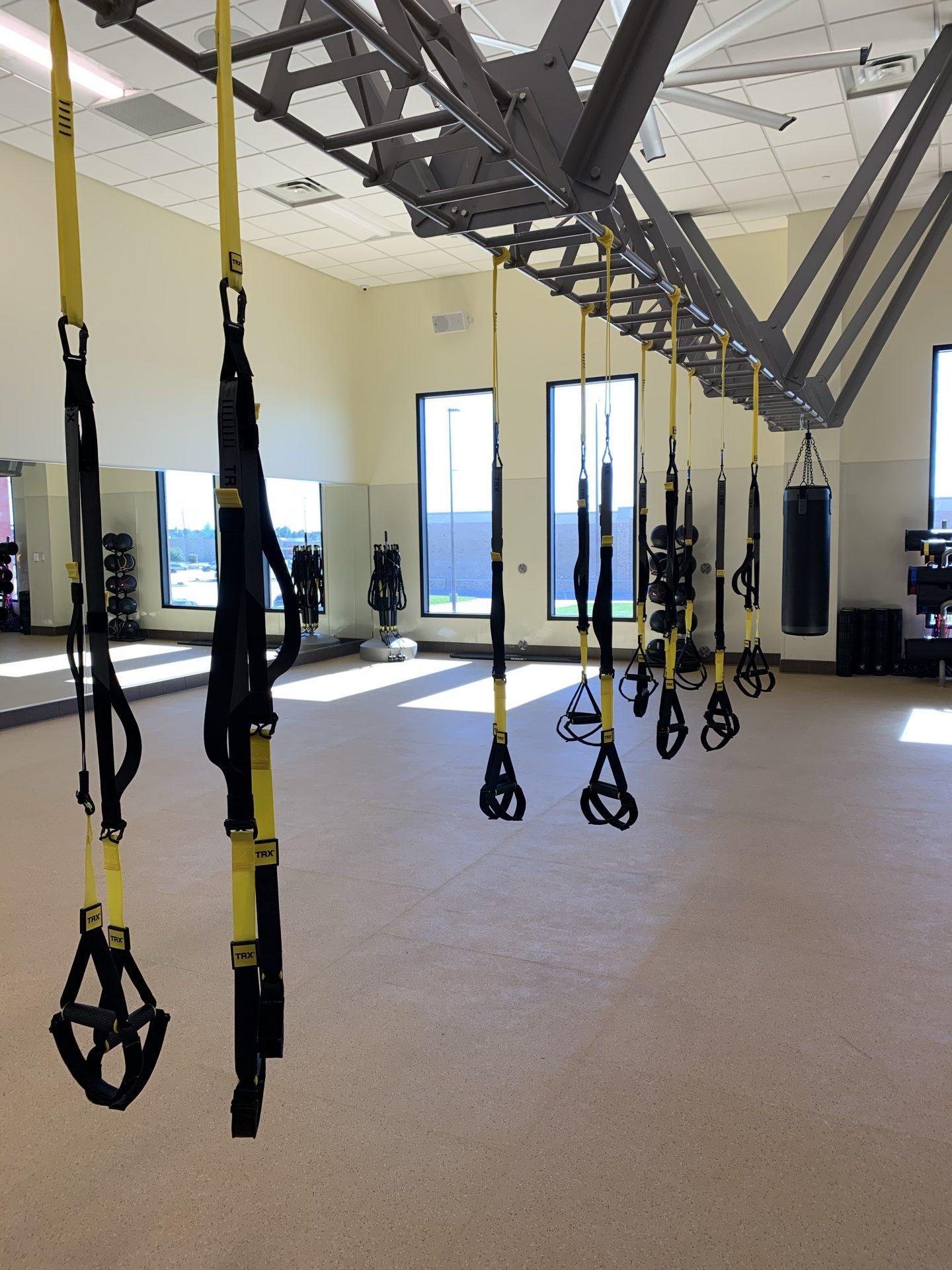 TRX Suspension Training room - gyms in katy tx - villasport cinco ranch